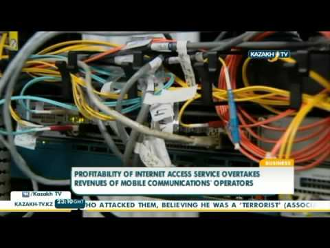 Profitability of internet access service overtakes revenues from mobile operators- Kazakh Tv