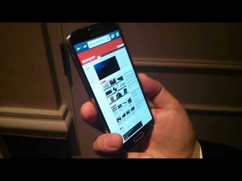 Samsung Galaxy S4 Smart Scroll - hands on review