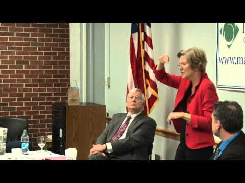 Senator Elizabeth Warren Visit to Massasoit Community College