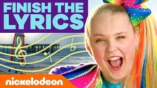 Can YOU Celebrate Like JoJo Siwa? | Finish The Lyrics Challenge 🎶 | #MusicMonday