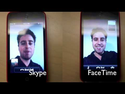 Skype vs FaceTime from PCMag.com