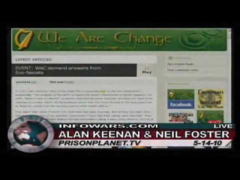 Alan Keenan   Neil Foster of We Are Change Ireland on Alex Jones Tv 3 3