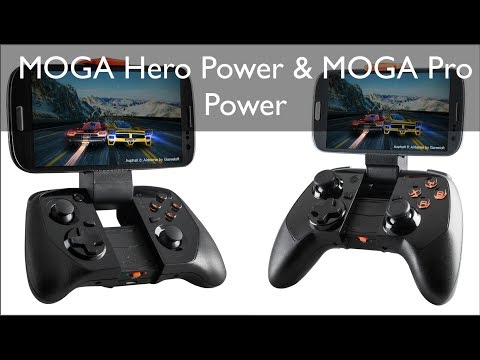 MOGA Pro Power & MOGA Hero Power Controles para dispositivos Android