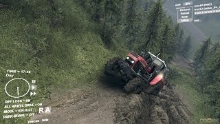 Spin Tires Ursus Tractor Gameplay #1