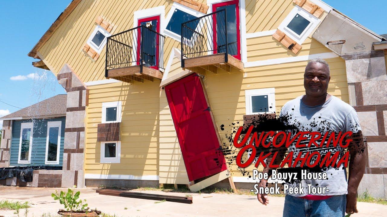 Poe Bouyz House - Sneak Peek Tour with Uncovering Oklahoma