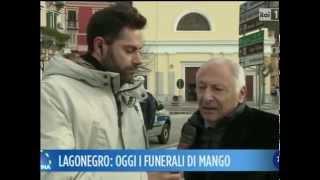video Servizio del Tg Basilicata dedicato all'ultimo saluto a Pino Mango.