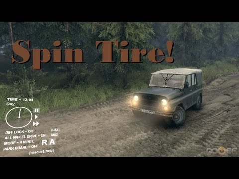 Spin Tire :: 4X4 Truck Simulator :: PC Game :: Kickstarter Demo
