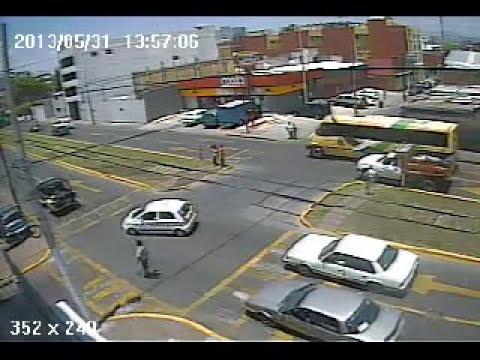 Pelea de transito en av ayuntamiento tlalnepantla centro