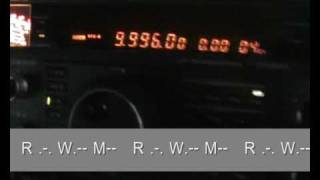 RWM 9996KHz -Standard Time and Frequency Station from Russia-
