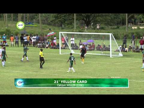 2013 OFC U 17 Championship Day 1 New Zealand vs Cook Islands Highlights