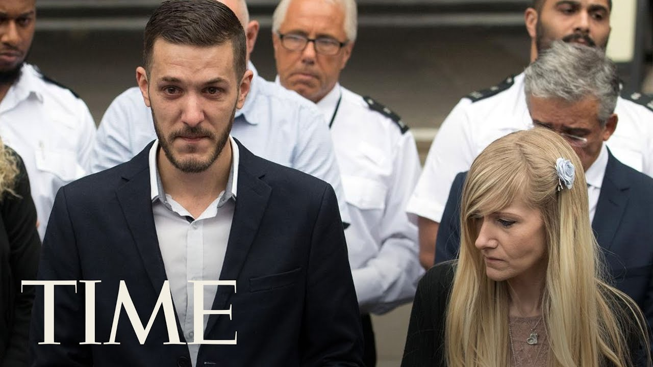 'Time Has Run Out': Charlie Gard's Parents Give Statement Following End Of Legal Battle   TIME