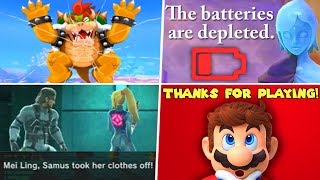 Evolution of 4th Wall Breaks in Nintendo Games (1986 - 2019)