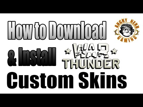 How to install war thunder skins on mac