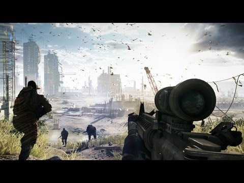 Battlefield 4 - Gameplay-Trailer »Fishing in Baku« - 17 Minuten aus der Kampagne