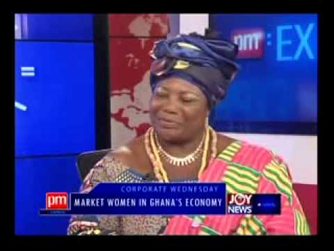 Market Women in Ghana's Economy - PM Express on Joy News (5-3-14)