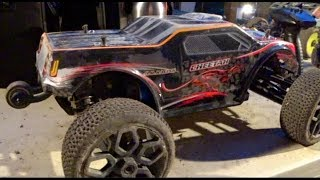 JLB Cheetah with Buggy Tires 3S Track Test - Netcruzer RC