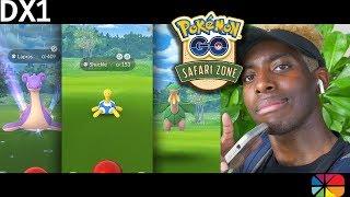 (IM BACK!!) and im sweaty... Pokemon GO Safari Zone Sentosa! Shiny Lapras, Shiny Shuckle and MORE