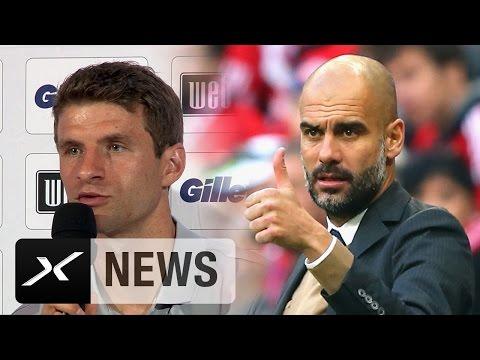 Thomas Müller: Ballbesitz nicht nur wegen Pep Guardiola | Trainer-Wechsel beim FC Bayern München