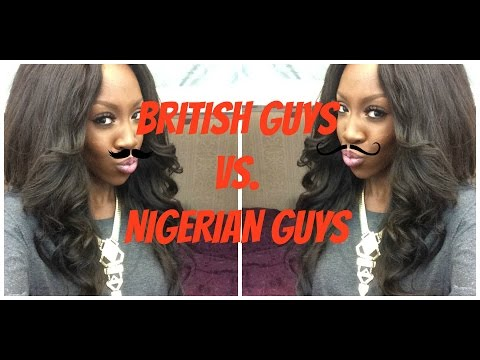 British Guys Vs Nigerian Guys video