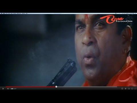 Brahmanandam As Famous Rowdy Telugu Comedy