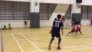 WYTC 2015 - M15 Singapore vs Chinese Taipei (Tchoukball)