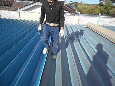 新潟県三条市の屋根外壁塗装リフォーム専門店遠藤組 折板工事カバー工事