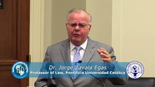 Dr Jorge Zavala Egas - The Role of the Judiciary in the Violation of Human Rights in Ecuador