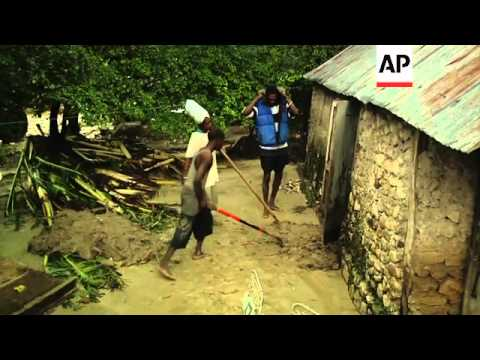 Death toll rising in Haiti after the island was lashed by Hurricane Sandy