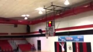 Amazing half court shot William Carey