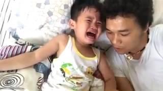 Ông bố Nghệ An dạy con kỹ năng chống bắt cóc trẻ em và điều bất ngờ :3
