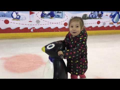 АМИНКА ВИТАМИНКА И АДЕКА ПЕРСИК на коньках 👍