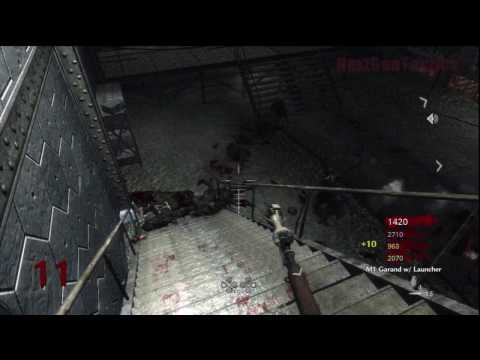 Call of Duty: World at War Nazi Zombies Der Riese 4-Player Strategy (Rounds 9-11)