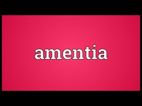 Header of amentia