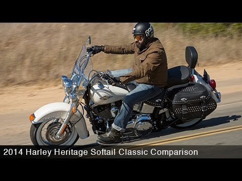 2014 Harley Heritage Softail Vs. Indian Chief Part 2 - MotoUSA