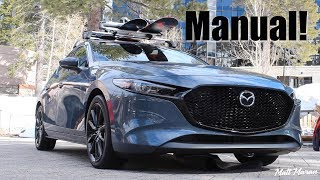 Quick Drive: Manual 2019 Mazda3 - The Lightest and Most Fun!