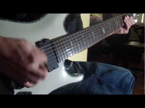 Breakdown Of Sanity  - The Storm (schecter Hellraiser C-7 Gloss White) video