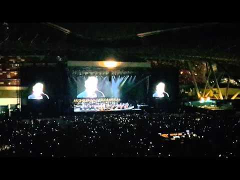 Time To Say Goodbye - Andrea Bocelli - Cinema World Tour 2016 - Abu Dhabi