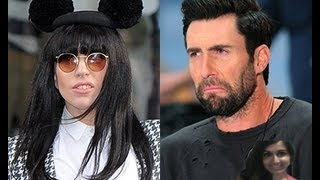 Adam Levine Sparks Twitter Feud With Lady Gaga - my thoughts