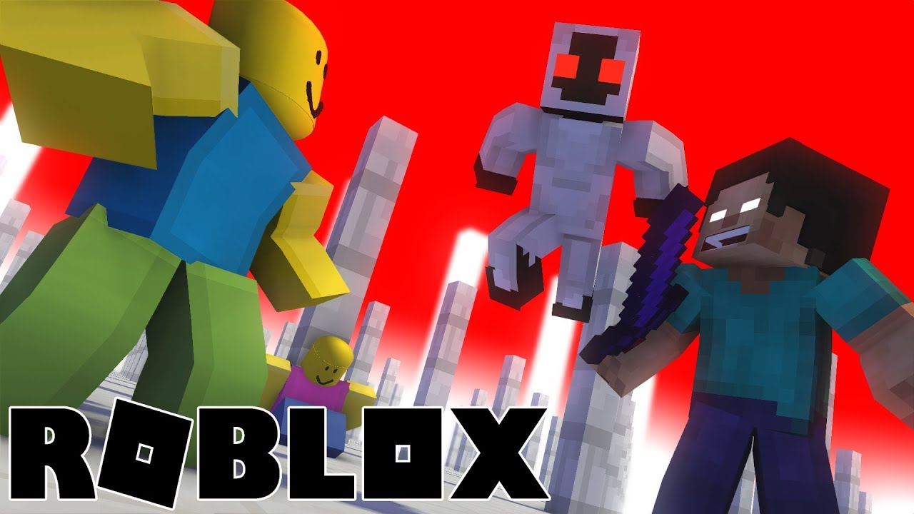 Monster School : VS ROBLOX part 3 - Minecraft Animation