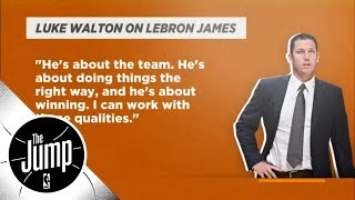 Luke Walton on the right track to meet with LeBron James early | The Jump | ESPN