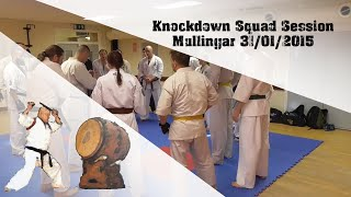 Low kick  - Front Leg / Irish Karate Kyokushinkai / Mullingar
