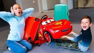 Artem and Lightning McQueen - Fun children Story