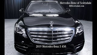 The Majestic 2019 Mercedes-Benz S450 review and walkaround from Mercedes Benz of Scottsdale