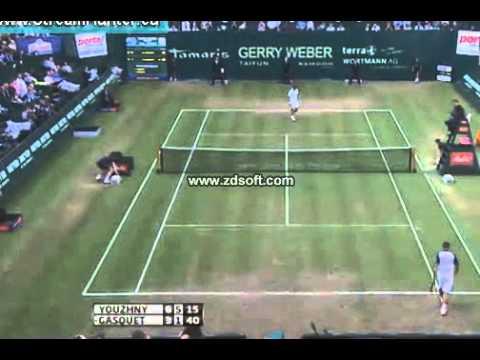M.Youzhny vs R.Gasquet Semifinal Halle 2013