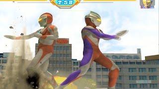 Sieu Nhan Game Play | Trận đấu Ultraman theo yêu cầu 10 1 | Game Ultraman figting eluvation 3