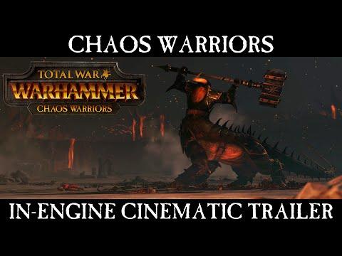 Total War: WARHAMMER - Chaos Warriors – In-Engine Cinematic Trailer [ESRB]