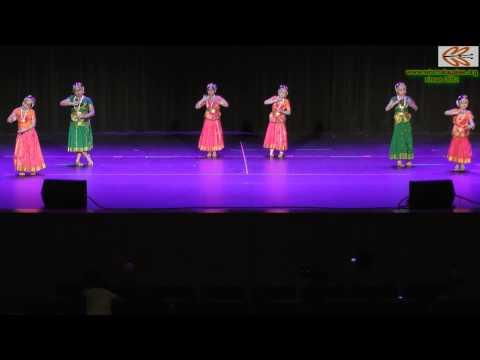 Wisma Xmas 2012 : Bharatanatyam - Jaya Janardhana Krishna Radhika Pathe video
