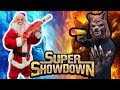 Santa VS Werewolf Super Showdown!! Christmas Sneak Attack Nerf Battle!!