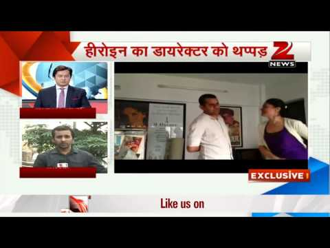 Actress Geetika Tyagi slaps Jolly LLB director Subhash Kapoor...