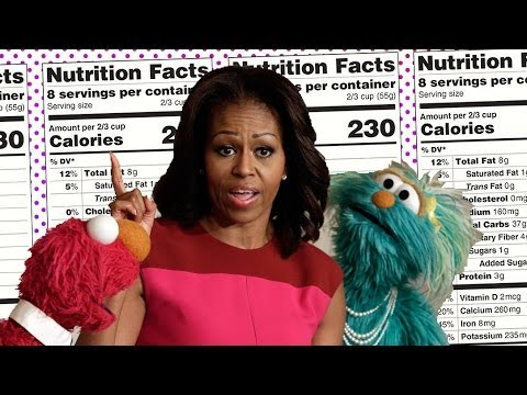 Michelle Obama and the FDA Redo Nutrition Labels